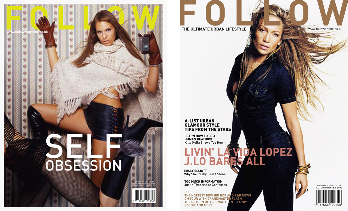 Follow Magazine Covers