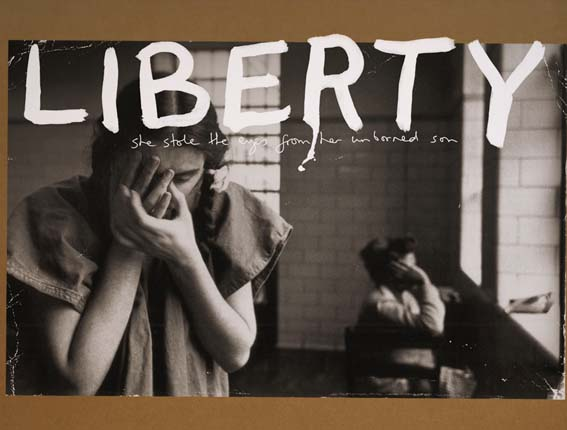 Liberty Graphic Art by Kristian Goddard